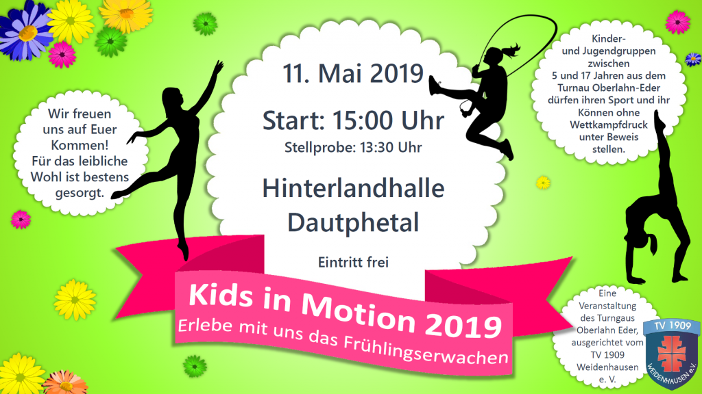 Kids in Motion 2019